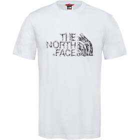 The North Face Flash Kurzarm T-Shirt Herren black/white
